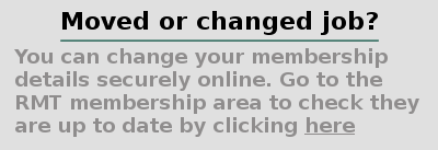 text block click to update membership details