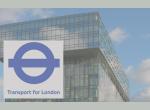 TfL logo and building